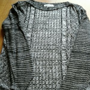 Women's black/gray sweater by Christopher Bank med